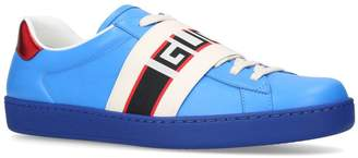 Gucci Elastic New Ace Sneakers