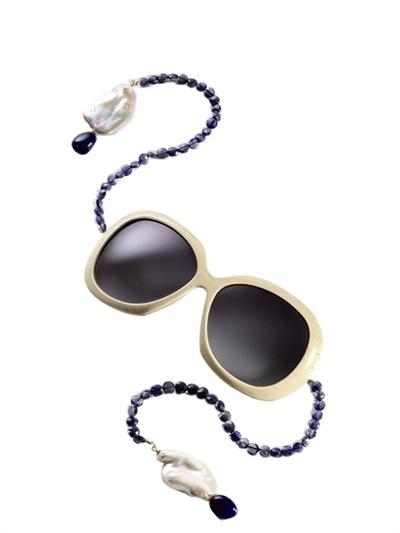 Raffaella Di Montalban Semi Precious Stones Sunglasses