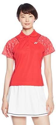 Yonex (ヨネックス) - (ヨネックス) YONEX テニス・バトミントンウェア ポロシャツ 20381 [レディース] 20381 496 サンセットレッド L