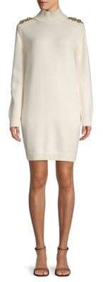 Burberry Carnriver Wool & Cashmere Sweater Dress