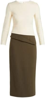 DAY Birger et Mikkelsen CARL KAPP Dunaway wool-crepe pencil dress