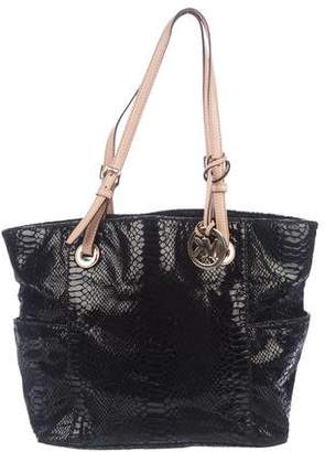 MICHAEL Michael Kors Embossed Leather Tote