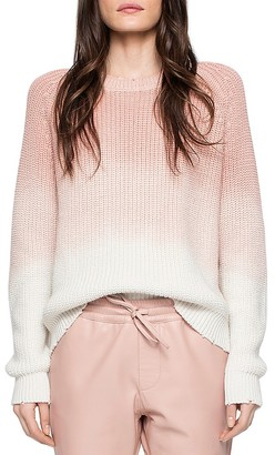 Zadig & Voltaire Kary Ombré Sweater $298 thestylecure.com