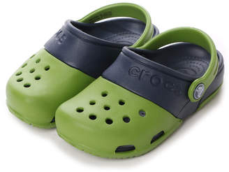 Crocs (クロックス) - クロックス crocs ジュニアサンダル エレクトロ Electro 2.0 Clog Parrot Green/Navy C10 15608-31X-C10