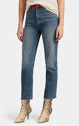 RE/DONE Women's High Rise Stovepipe Jeans - Blue