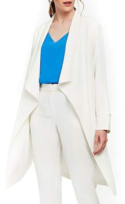 Wallis High Twist Waterfall Duster Coat
