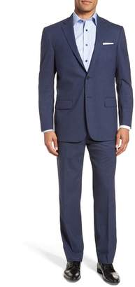 Hart Schaffner Marx New York Classic Fit Stretch Solid Wool Suit