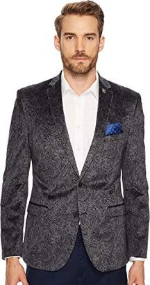 Nick Graham Men's Paisley Evening Jacket Blazer