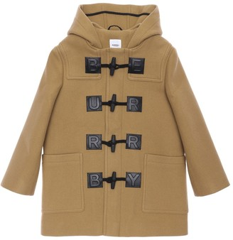 Burberry HOODED WOOL & CASHMERE COAT
