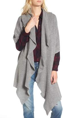 Nordstrom Cashmere Ruffle Wrap