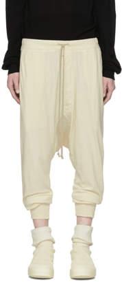 Rick Owens Beige Prisonner Lounge Pants