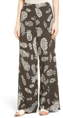 Women's Nic+Zoe Pineapple Pop Print Pants $158 thestylecure.com