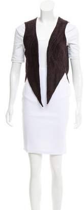 Kimberly Ovitz Terry Cloth Short Vest
