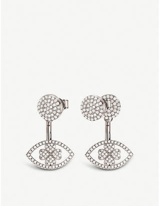 Folli Follie H4H Mati silver earrings