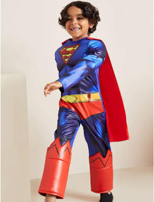 Dc Comics George Superman Fancy Dress Costume