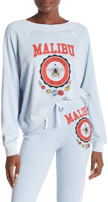 Wildfox Couture Malibu Crest Sommers Graphic Sweatshirt