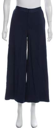 Jonathan Simkhai High-Rise Wide-Leg Pants