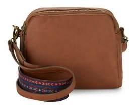 Design Lab Lord & Taylor Double Zip Crossbody Bag
