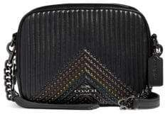 Coach Quilted Leather Camera Crossbody Bag