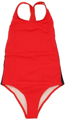Gucci Logo Bands Lycra One Piece Swimsuit