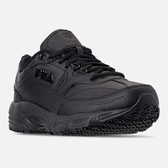 Fila Men's Memory Workshift Slip Resistant Wide Width Casual Shoes