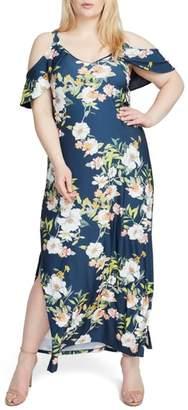 Rachel Roy Cold Shoulder Maxi Dress