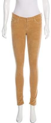 Mother Low-Rise Corduroy Pants