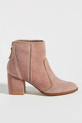 Faryl Robin Stitched Suede Ankle Boots