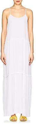 ATM Anthony Thomas Melillo Women's Tiered Cotton Gauze Maxi Dress