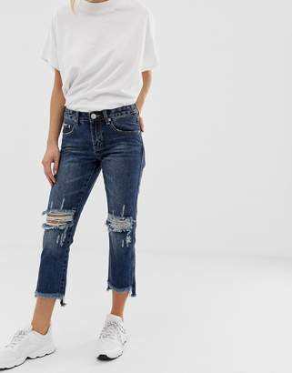 Glamorous ripped knee jeans