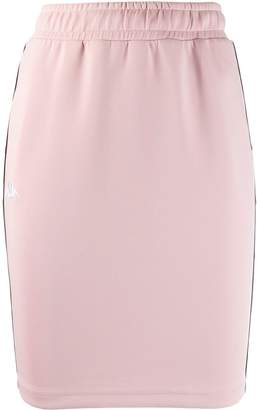 Kappa logo fitted skirt