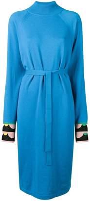 Emilio Pucci cuff detail dress