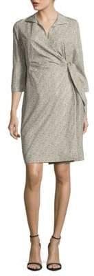 Lafayette 148 New York Floral Printed Cotton Dress