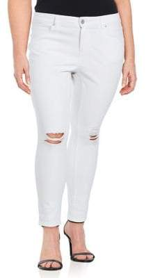 Jessica Simpson Plus Forever Rolled Ankle Jeans
