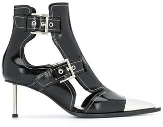 Alexander McQueen cage heel boots
