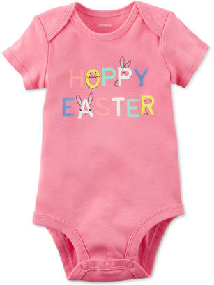 Carter's Easter Graphic-Print Cotton Bodysuit, Baby Girls