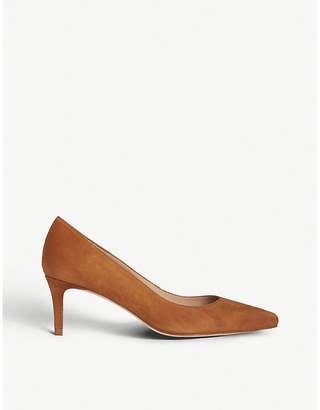 LK Bennett Elma leather court shoes