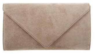 Ralph Lauren Suede Envelope Clutch
