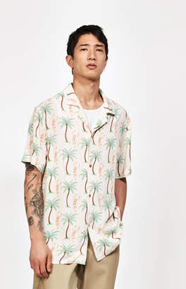 Insight Death Dance Short Sleeve Button Up Camp Shirt