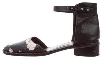 Zero Maria Cornejo d'Orsay Leather Flats