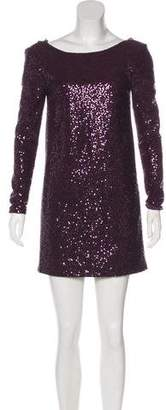 Tibi Sequined Mini Dress