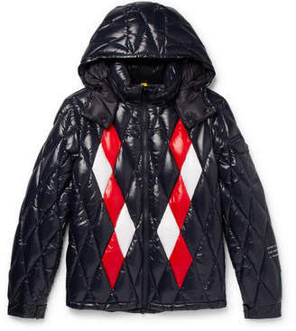 Moncler Genius 7 Fragment Leeming Quilted Shell Hooded Jacket