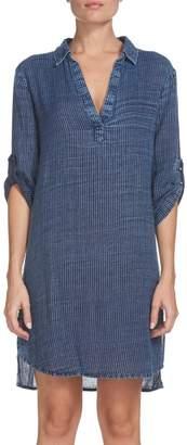 Elan International Pinstripe Tunic Dress