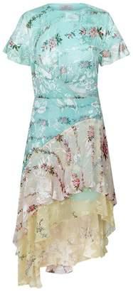 Preen Paula Floral Ruffle Dress