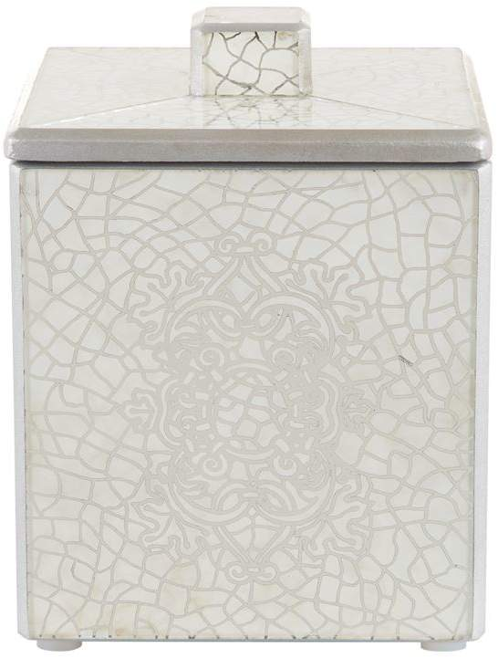 Miraflores Silver-Tone Canister