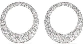 Anita Ko Large Galaxy 18-karat White Gold Diamond Earrings