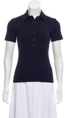 Tory Burch Short Sleeve Polo T-Shirt