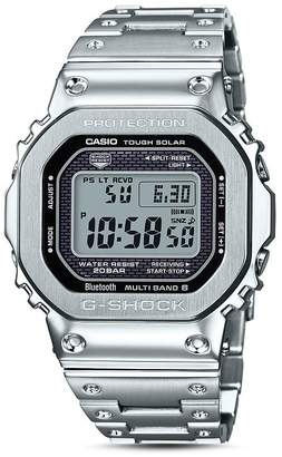G-Shock Masterpiece Silver-Tone Watch, 42.8mm x 48.9mm