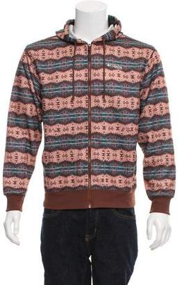 Columbia Printed Zip-Up Sweatshirt