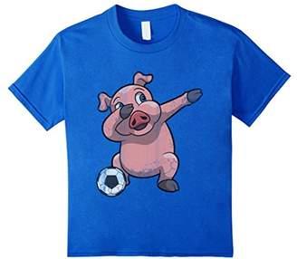 Dabbing Soccer Pig Dab Shirt